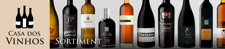 Sortiment: Hier finden Sie die Weine aus Portugal die wir bei Casa dos Vinhos in Olching bei München im Landkreis Fürstenfeldbruck führen. Wir legen Wert darauf, für jede Region in Portugal die charakteristischsten und besten Weine in unserem Sortiment zu haben