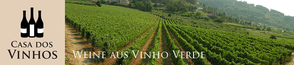 Weine aus dem Vinho Verde: Wein aus der Region Vinho Verde ist weltweit bekannt. Die Weine dieser Region sind meist sehr frisch und passen perfekt zu gegrilltem Fisch.