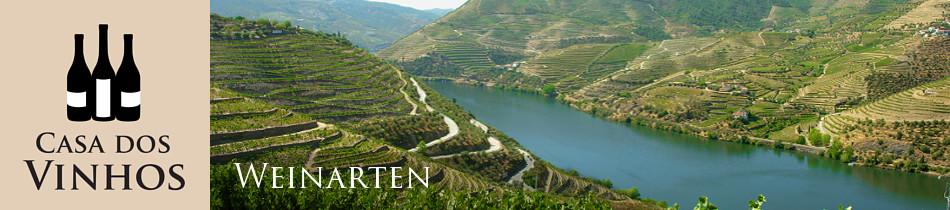 Weinarten: In Portugal gibt es eine große Vielfalt verschiedener Weinarten. Neben Rotwein und Weißwein gibt es auch die exklusiv nur in Portugal produzierten Weinarten Moscatel de Setúbal und Portwein. Wir führen bei Casa dos Vinhos in Olching all diese Weinarten. Klicken Sie auf eine Weinart um zu den dazu passenden Weinen unseres Sortiments zu gelangen