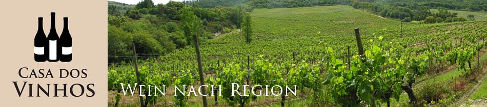 Wein nach Regionen: Hier finden Sie eine Übersicht über die verschiedenen Weinregionen von Portugal. Sie können sich ein Bild davon machen wo sich die Regionen auf der Landkarte befinden. Klicken Sie auf die Regionen um zu den Weinen zu gelangen, die wir aus der jeweiligen Region führen.
