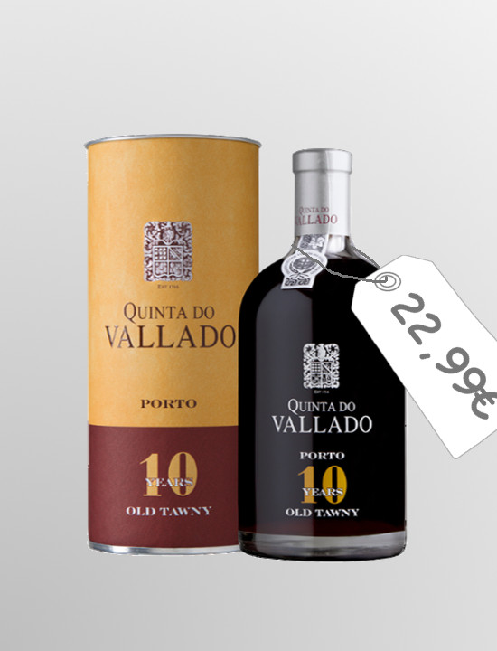 Quinta do Vallado Tawny 10 years old (0,5L)