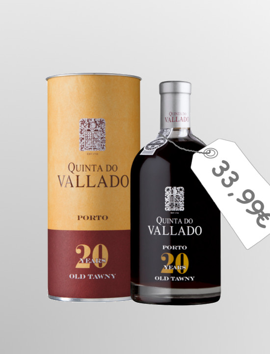 Quinta do Vallado Tawny 20 years old (0,5L)
