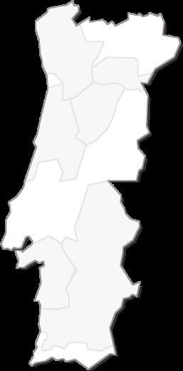 Weinregionen Portugals - Karte